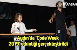 Aydın'da 'Code Week 2019' etkinliği gerçekleştirildi