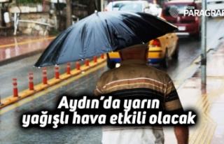 Aydın'da yarın yağışlı hava etkili olacak
