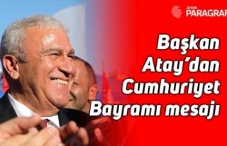 Başkan Atay'dan Cumhuriyet Bayramı mesajı