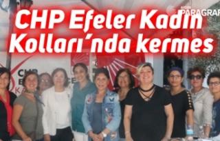 CHP Efeler Kadın Kolları'nda kermes
