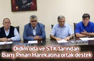 Didim oda ve STK'larından Barış Pınarı Harekatına...