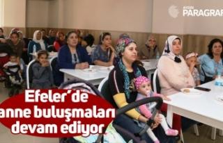 Efeler'de anne buluşmaları devam ediyor