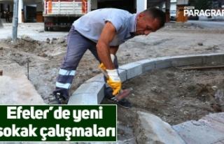 Efeler'de yeni sokak çalışmaları