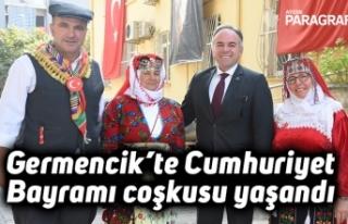 Germencik'te Cumhuriyet Bayramı coşkusu yaşandı