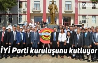 İYİ Parti kuruluşunu kutluyor