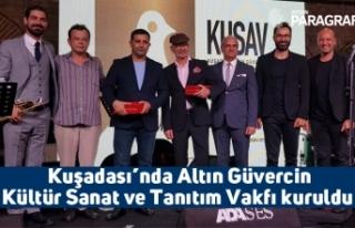 Kuşadası'nda Altın Güvercin Kültür Sanat ve...