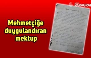 Mehmetçiğe duygulandıran mektup