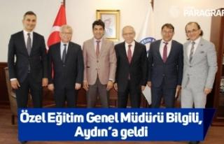 Özel Eğitim Genel Müdürü Bilgili, Aydın'a...