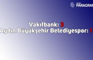 Vakıfbank: 3 - Aydın Büyükşehir Belediyespor:...