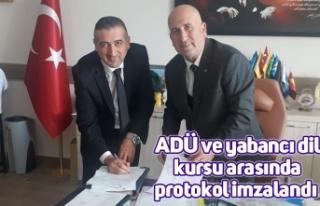 ADÜ ve yabancı dil kursu arasında protokol imzalandı