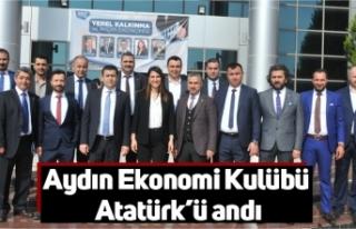 Aydın Ekonomi Kulübü Atatürk'ü andı