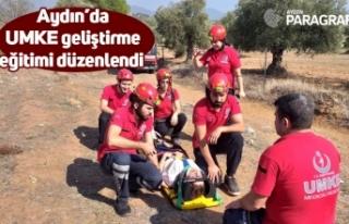 Aydın'da UMKE geliştirme eğitimi düzenlendi
