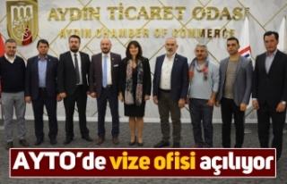 AYTO'de vize ofisi açılıyor