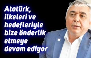 """CHP İl Başkanı Çankır; """"Atatürk, ilkeleri..."""
