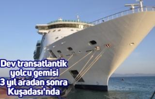 Dev transatlantik yolcu gemisi 3 yıl aradan sonra...