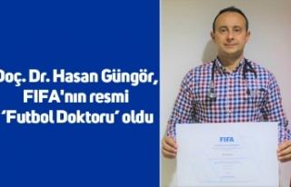 Doç. Dr. Hasan Güngör, FIFA'nın resmi 'Futbol...