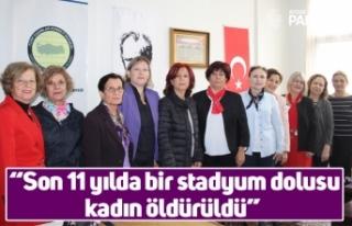 """Habibe Gürer; """"Son 11 yılda bir stadyum dolusu..."""