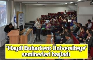 'Haydi Buharkent Üniversiteye' seminerleri...