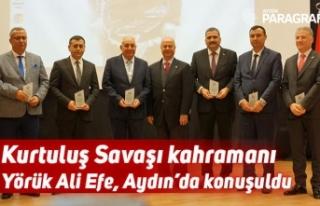Kurtuluş Savaşı kahramanı Yörük Ali Efe, Aydın'da...