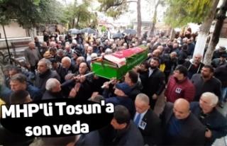 MHP'li Tosun'a son veda