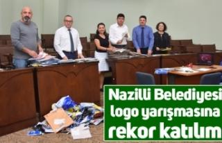 Nazilli Belediyesi logo yarışmasına rekor katılım