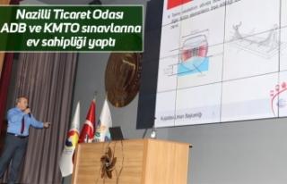 Nazilli Ticaret Odası ADB ve KMTO sınavlarına ev...