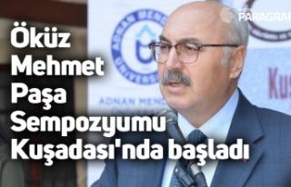 Öküz Mehmet Paşa Sempozyumu Kuşadası'nda...