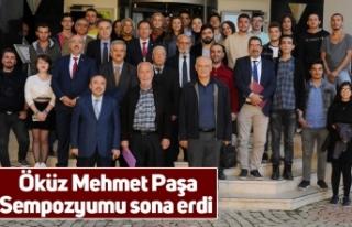 Öküz Mehmet Paşa Sempozyumu sona erdi