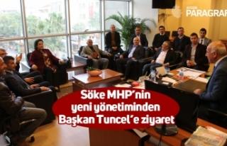 Söke MHP'nin yeni yönetiminden Başkan Tuncel'e...