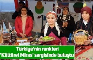 Türkiye'nin renkleri 'Kültürel Miras'...