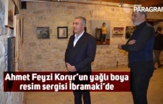 Ahmet Feyzi Korur'un yağlı boya resim sergisi...