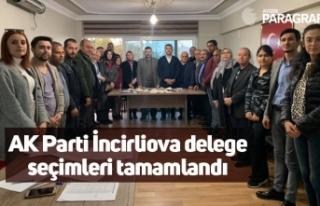 AK Parti İncirliova delege seçimleri tamamlandı