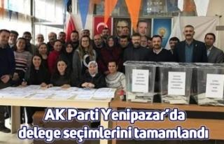 AK Parti Yenipazar'da delege seçimlerini tamamlandı