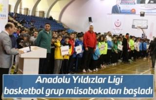 Anadolu Yıldızlar Ligi basketbol grup müsabakaları...