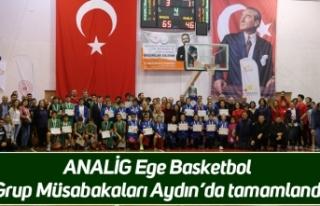 ANALİG Ege Basketbol Grup Müsabakaları Aydın'da...