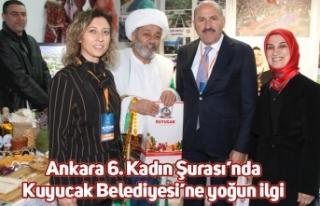 Ankara 6. Kadın Şurası'nda Kuyucak Belediyesi'ne...