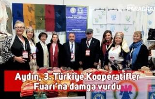 Aydın, 3. Türkiye Kooperatifler Fuarı'na damga...