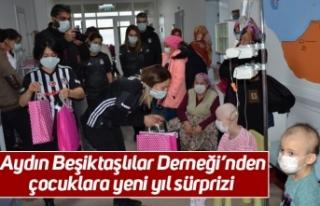 Aydın Beşiktaşlılar Derneği'nden çocuklara...
