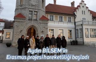 Aydın BİLSEM'in Erasmus projesi hareketliliği...