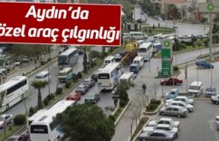 Aydın'da özel araç çılgınlığı