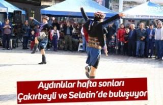 Aydınlılar hafta sonları Çakırbeyli ve Selatin'de...
