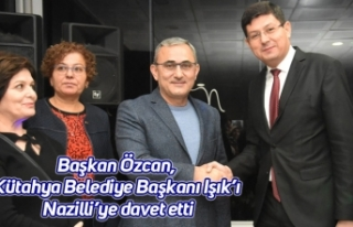 Başkan Özcan, Kütahya Belediye Başkanı Işık'ı...
