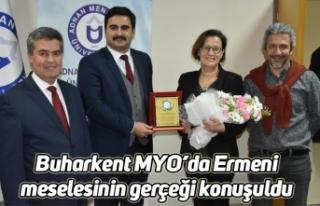 Buharkent MYO'da Ermeni meselesinin gerçeği konuşuldu