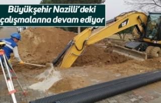 Büyükşehir Nazilli'deki çalışmalarına devam...