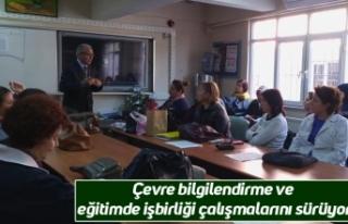 Çevre bilgilendirme ve eğitimde işbirliği çalışmalarını...