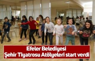 Efeler Belediyesi Şehir Tiyatrosu Atölyeleri start...