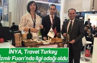 İNYA, Travel Turkey İzmir Fuarı'nda ilgi odağı...