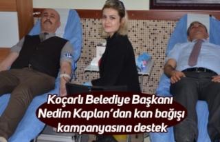 Koçarlı Belediye Başkanı Nedim Kaplan'dan kan...
