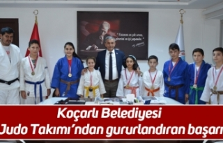 Koçarlı Belediyesi Judo Takımı'ndan gururlandıran...