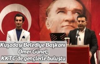 Kuşadası Belediye Başkanı Ömer Günel, KKTC'de...